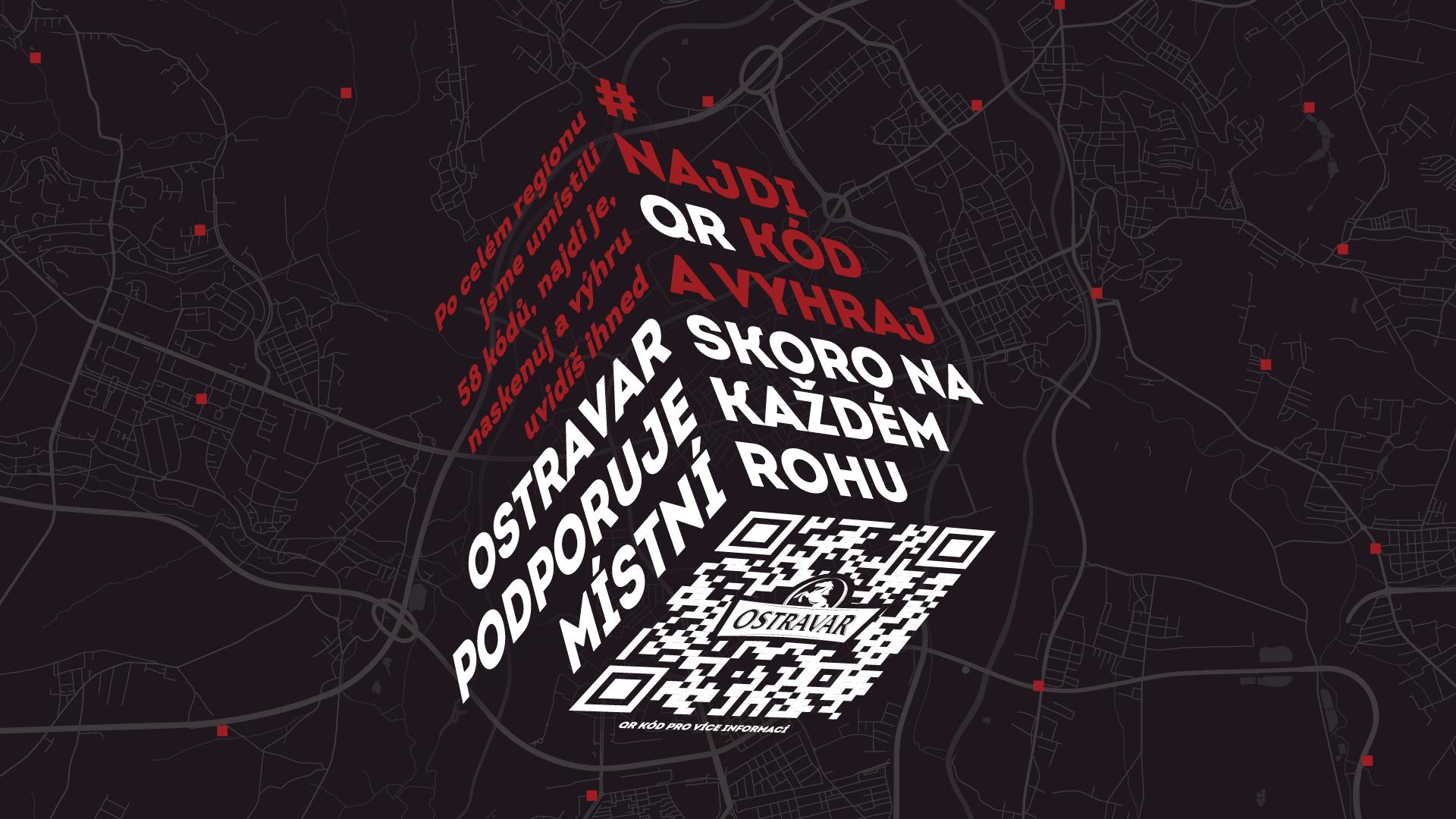 Startuje projekt  s výherními QR kódy v ulicích